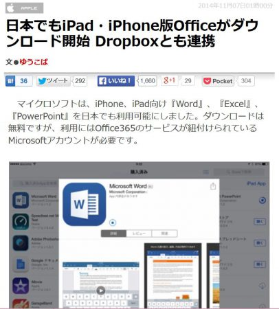 iPadoffice