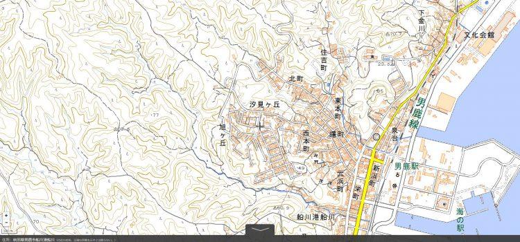 地理院地図から読み解ける災害リスク
