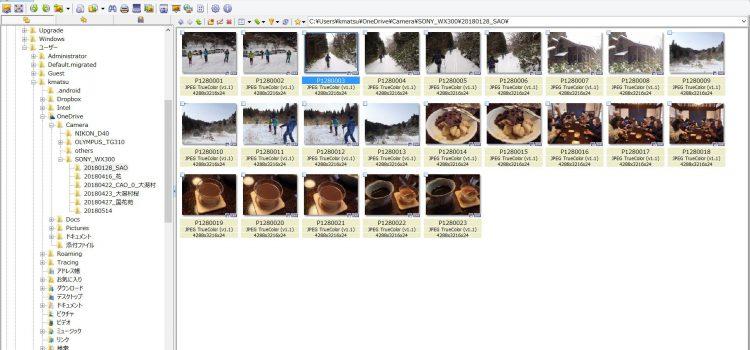 画像管理にはXnViewが便利