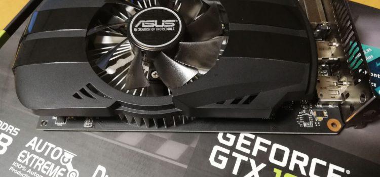 ASUS PH-GTX1050-2Gの動作チェック